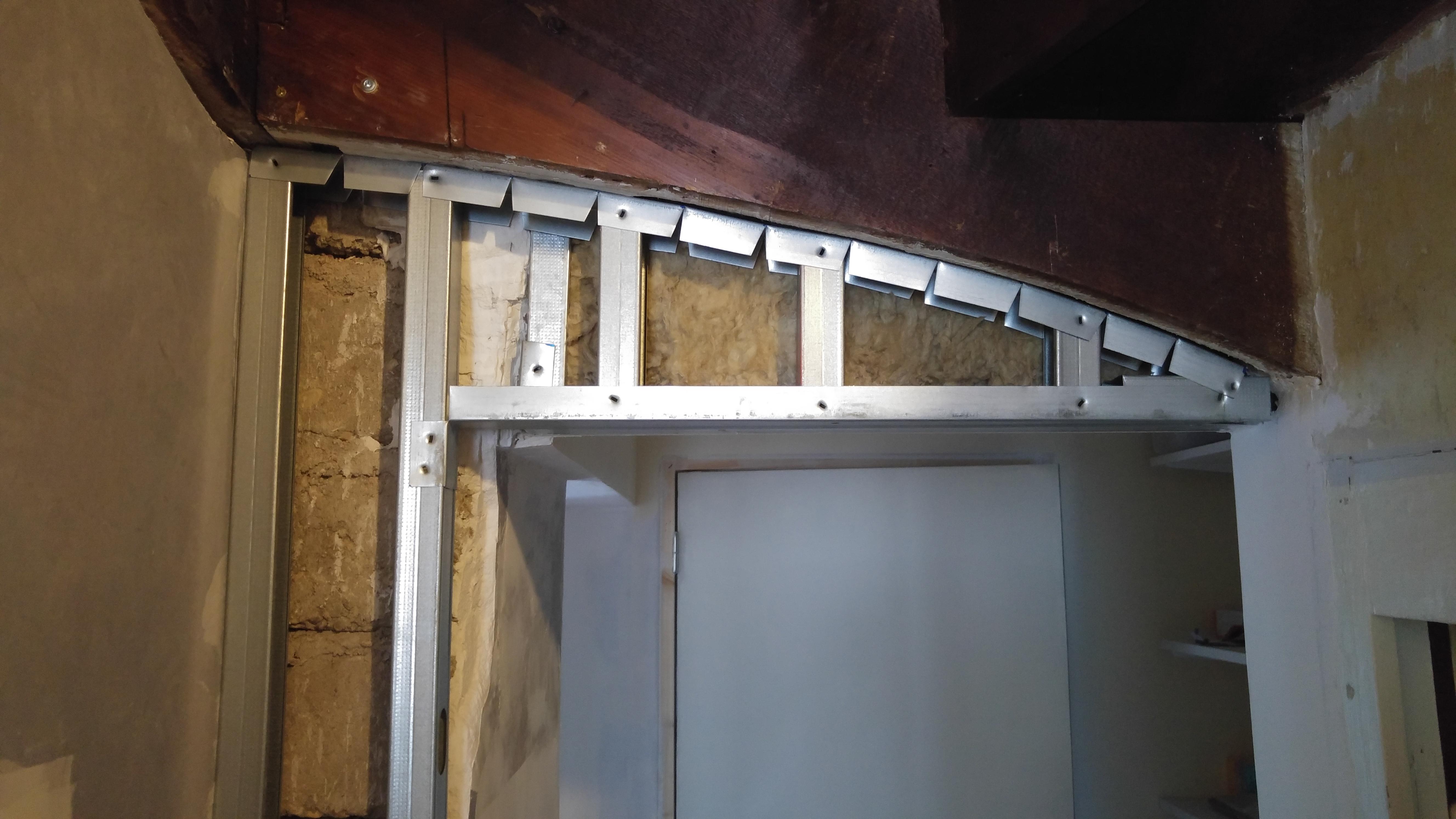 Salon Isolation Et Plaquage La Maison Des Rigolettes # Faire Des Arches Avec Du Placoplatre